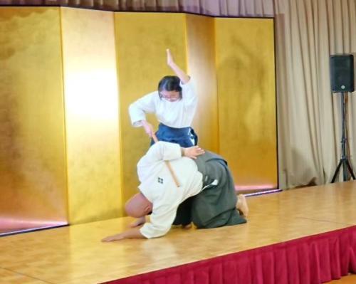 平成30年 桜野芸能祭 武術演武(柔術)